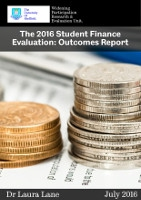2016 Student Finance Outcomes